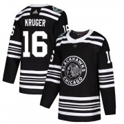 Adidas Marcus Kruger Chicago Blackhawks Men's Authentic 2019 Winter Classic Jersey - Black