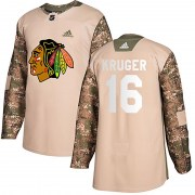 Adidas Marcus Kruger Chicago Blackhawks Men's Authentic Veterans Day Practice Jersey - Camo